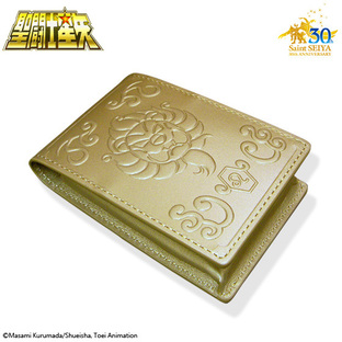 GOLD CLOTH BOX BUSINESS CARD HOLDER LEO