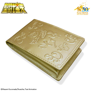 GOLD CLOTH BOX BUSINESS CARD HOLDER SAGITTARIUS