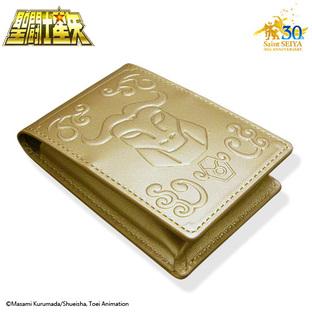 GOLD CLOTH BOX BUSINESS CARD HOLDER TAURUS