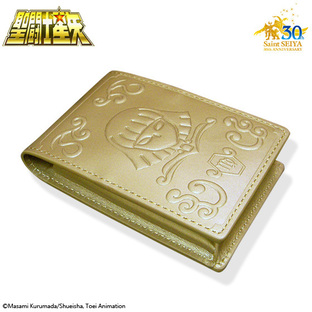 GOLD CLOTH BOX BUSINESS CARD HOLDER VIRGO
