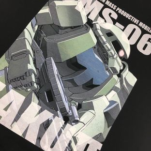 機動戰士鋼彈  全彩T-Shirt
