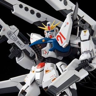 MG 1/100 GUNDAM F91 Ver2.0 BACK CANNON TYPE & TWIN V.S.B.R. SET UP TYPE