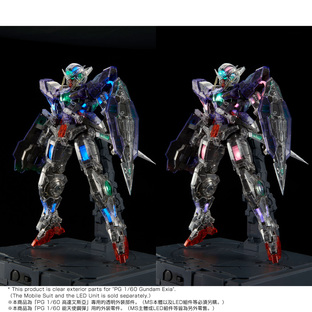 PG 1/60 CLEAR COLOR BODY FOR GUNDAM EXIA [2019年2月發送]