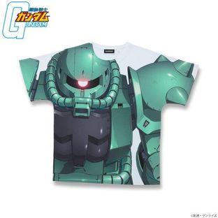 機動戰士鋼彈 全版大圖T恤 MS-06