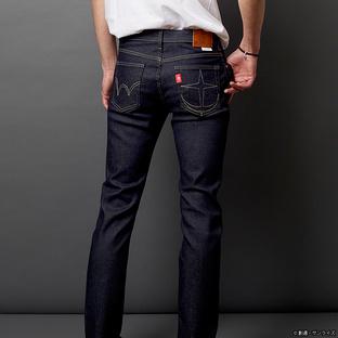 EDWIN JERSEYS 牛仔褲 連邦軍 深色加工規格