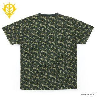 機動戰士鋼彈 迷彩圖案T恤