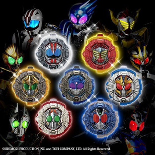 KAMEN RIDER ZI-O SOUND RIDE WATCH SERIES GP RIDE WATCH PB02