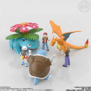 POKEMON SCALE WORLD KANTO VENUSAUR W/O GUM