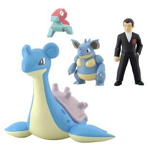 Pokemon Scale World Kanto SYLPH company set [2021年7月發送]