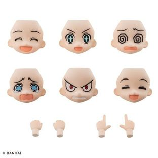 AQUA SHOOTERS! FACE PARTS SET 01
