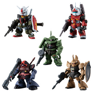 FW GUNDAM CONVERGE: CORE GUNDAM REAL TYPE SET