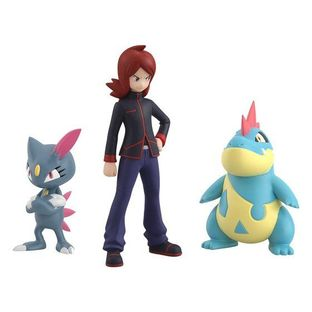 POKEMON SCALE WORLD JOUTO Silver & Croconaw & Sneasel