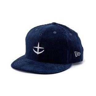 New Era  9 FIFTY 燈芯絨棒球帽 40周年 地球聯邦軍規格