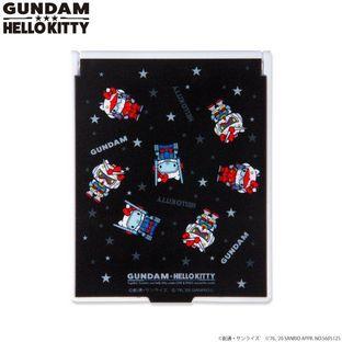 Gundam×Hello kitty  Stand Mirror