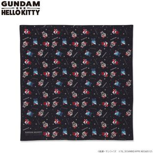 Gundam×Hello kitty  Headscarf