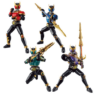 SO -DO CHRONICLE KAMEN RIDER KUUGA RISING SET W/O GUM