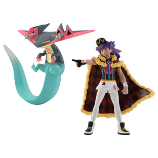 POKEMON SCALE WORLD GALAR LEON & DRAGAPULT W/O GUM
