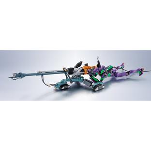 THE ROBOT SPIRITS <SIDE EVA> OPERATION YASHIMA REPRODUCTION POSITRON CANNON +ESV+TYPE G COMPONENTS