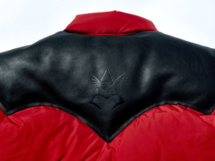 ROCKY  MOUNTAIN FEATHERBED「機動戰士鋼彈」 羽絨背心 夏亞專用薩克Ⅱ規格