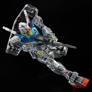 PG UNLEASHED 1/60 CLEAR COLOR BODY FOR RX-78-2 GUNDAM [2021年4月發送]