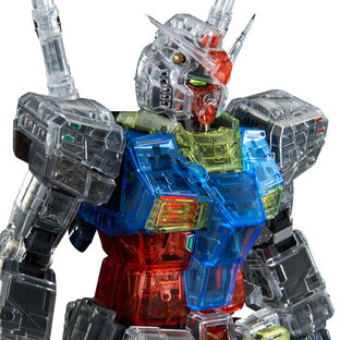 PG UNLEASHED 1/60 CLEAR COLOR BODY FOR RX-78-2 GUNDAM [2021年6月發送]