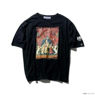 「機動戰士鋼彈UC」10周年 寬版T恤 貴婦人與獨角獸