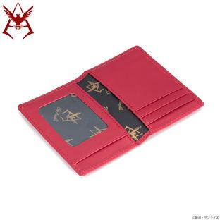 機動戰士鋼彈 夏亞黃金標誌 證件夾