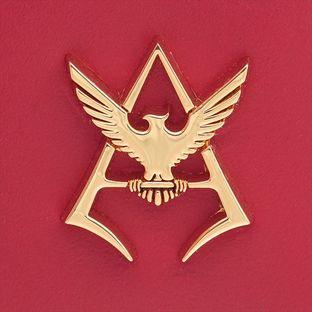 機動戰士鋼彈 夏亞黃金標誌 鑰匙包