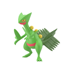 POKEMON SCALE WORLD HOENN SCEPTILE W/O GUM