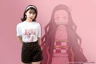 鬼滅之刃 X Anna Sui聯名 T-shirt