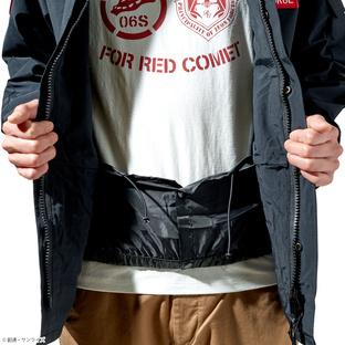 ST-G.A 「機動戦士鋼彈」 ECWCS防風夾克 紅色彗星規格