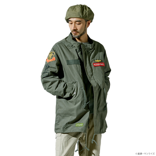 ST-G.A 「機動戦士鋼彈」 M-65軍裝夾克 吉翁軍