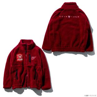 STRICT-G 抓毛絨夾克 紅色彗星規格