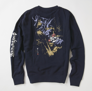 STRICT-G JP  「機動戰士Z鋼彈」  交戦 帕拉斯‧雅典娜 水墨風衛衣