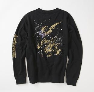 STRICT-G JP  「機動戰士Z鋼彈」  決戰 THE・O 水墨風衛衣