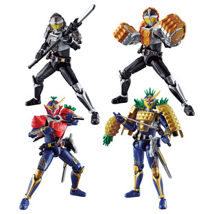 SO-DO CHRONICLE KAMEN RIDER GAIM KUROKAGE & KNUCKLE & ARMS SET W/O GUM