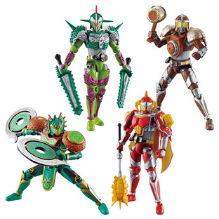 SO-DO CHRONICLE KAMEN RIDER GAIM BRAVO & GRIDON & ARMS SET W/O GUM
