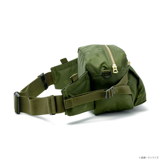 PORTER TOKYO JAPAN 腰包 吉翁軍規格