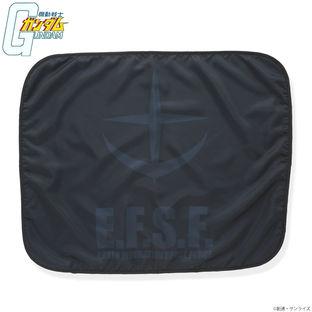 機動戰士鋼彈 BLACK LOGO 毯子