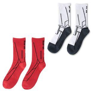 『機動戰士鋼彈 逆襲的夏亞』機動戰士變裝 襪子
