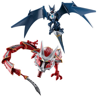 SO-DO CHRONICLE KAMEN RIDER RYUKI DRAGREDER & DARK WING SET W/O GUM