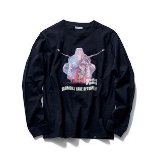『機動戰士鋼彈0083』鋼彈試作2號機 長袖T恤