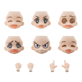 AQUA SHOOTERS! FACE PARTS SET 01 ANOTHER COLOR