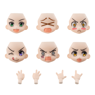 AQUA SHOOTERS! FACE PARTS SET 02 ANOTHER COLOR