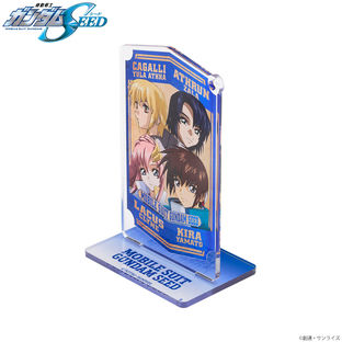 Characters Keychain/Standee Set—Mobile Suit Gundam SEED