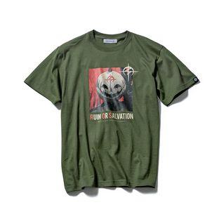 "STRICT-G ""Flashing Hathaway"" T-shirt Hathaway pumpkin head"
