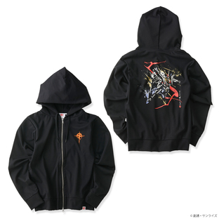 STRICT-G JAPAN Flashing Hathaway zip hoodie Brush painting Ξ Gundam
