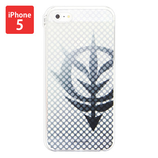 Cover for iPhone5 Gundam Zion・Clear color