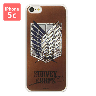 Jacket for iPhone 5C Attack on Titan Survey Corps