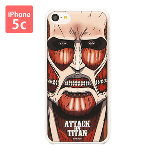 Jacket for iPhone 5C Attack on Titan Colossal Titan